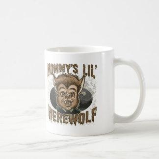 Mommy's Little Werewolf Basic White Mug
