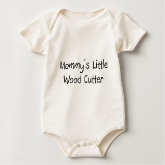 Mommys Little Wood Cutter Baby Bodysuit