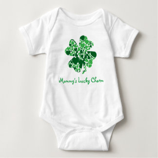 """Mommy's Lucky Charm"" Infant Creeper"
