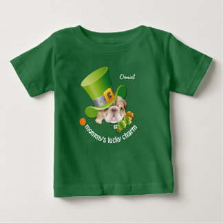 Mommy's Lucky Charm Lucky Charm Baby T-Shirts