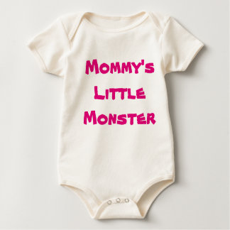 Mommy's monster baby bodysuit