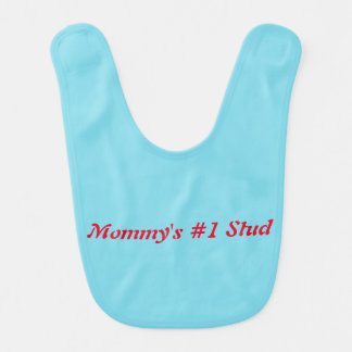 Mommys number one stud bibs