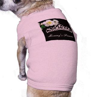 Mommy's Princess Sleeveless Dog Shirt