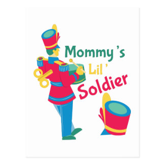 Mommys Soldier Postcard