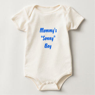 "Mommy's""Sonny"" Boy Baby Bodysuit"