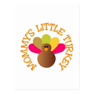 Mommys Turkey Postcard
