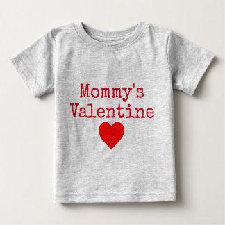 Mommy's Valentine Baby T-Shirt