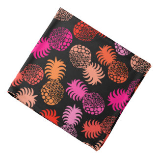 Momona Hawaiian Tropical Pineapple Bandana