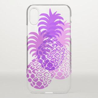 Momona Pineapple Hawaiian Tropical Violet iPhone X Case