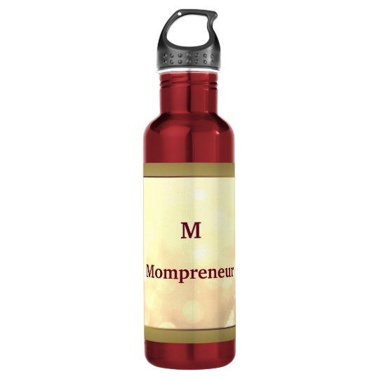 Mompreneur personalised 710 ml water bottle