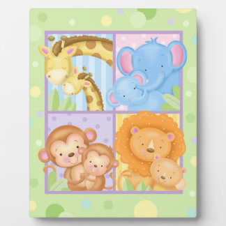 Moms and Babies Art Easel Plaque