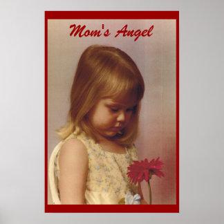 mom's angel poster