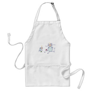 Moms are not angels standard apron