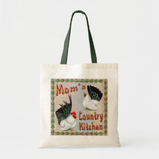 Mom's Country Kitchen Tote Bag
