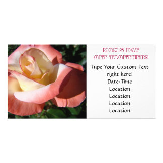 Mom's Day! Invitations Mother's Day Get Together Picture Card