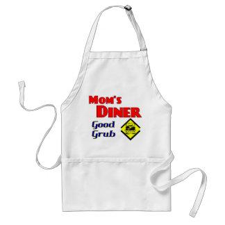 Mom's Diner Good Grub Retro Restaurant Aprons