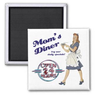 Mom's Diner Magnet