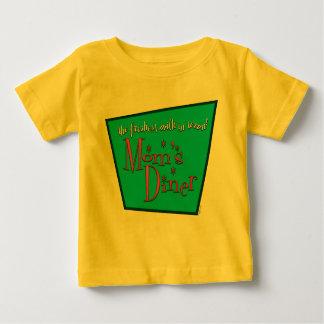 Mom's Diner Retro Pro-Breastfeeding Design Baby T-Shirt
