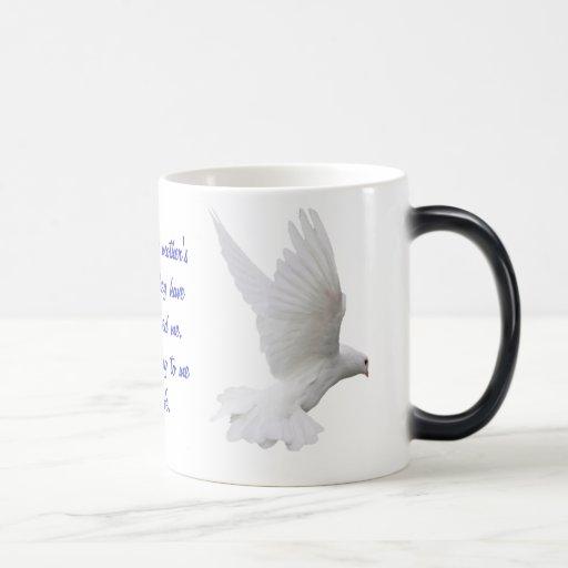 Mom's Dove Mug
