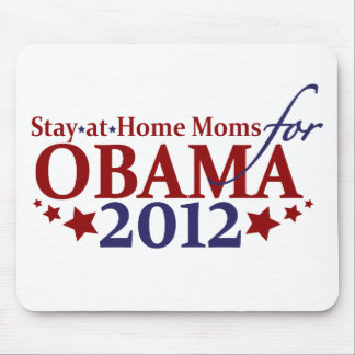 Moms for Obama 2012 Mouse Pad