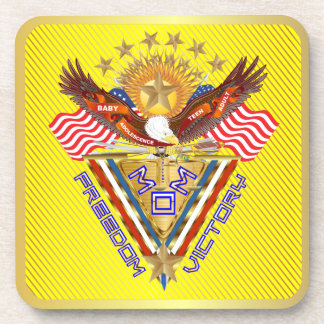 Moms Freedom Award View Info From The Designer Beverage Coasters