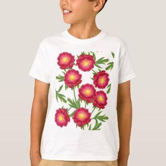Moms Garden Peonies Kids T-Shirt