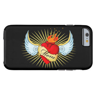 Mom's Heart Tough iPhone 6 Case
