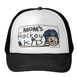 Mom's Hockey Kid Hats