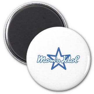 Moms Idol 6 Cm Round Magnet