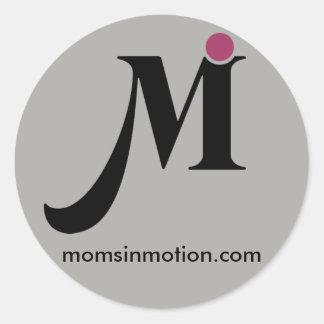 Moms In Motion Sticker
