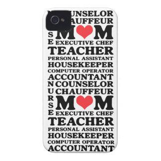 Mom's Jobs iPhone 4 Case