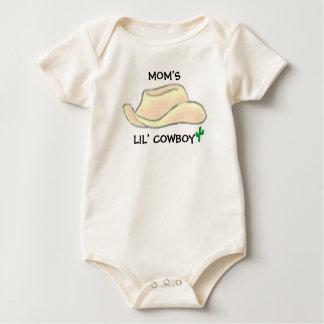 MOM'S LIL' COWBOY BABY BODYSUIT