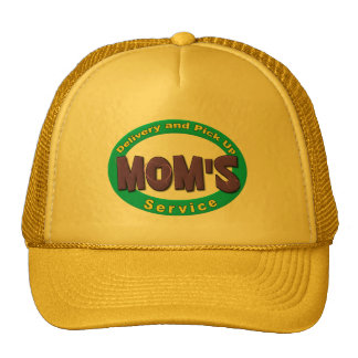 Mom's Pick Up and Delivery Service Mesh Hat
