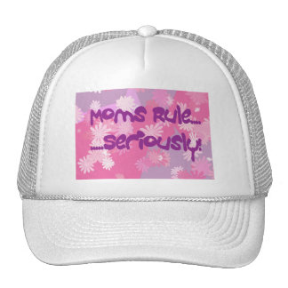 Moms Rule Gear Cap