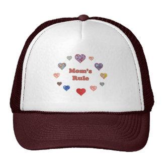 Mom's Rule Mesh Hats
