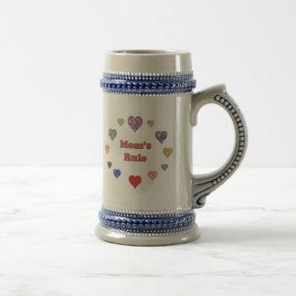 Mom's Rule Coffee Mug