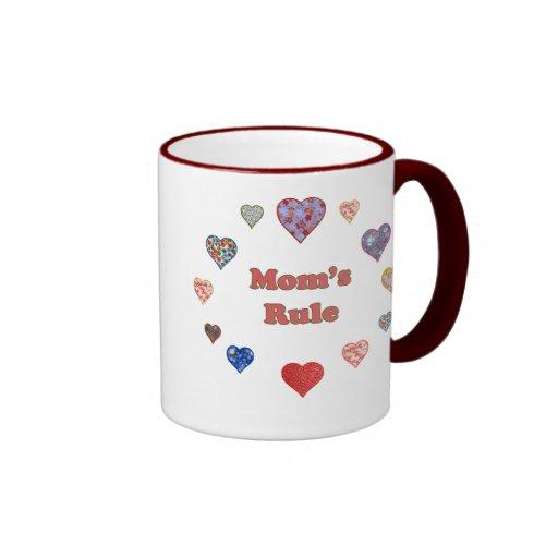 Mom's Rule Mug