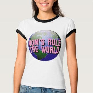 Mom's Rule The World-T-Shirt T Shirt