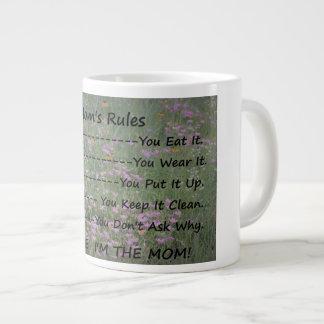 Mom's Rules Beverage Mug