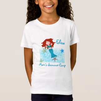Mom's Summer Camp Mermaid T-Shirt