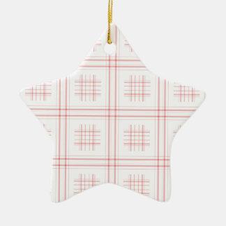 Moms tablecloth christmas ornament