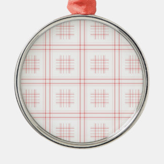 Moms tablecloth christmas ornament