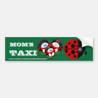 Mom's Taxi Bumper Stickers