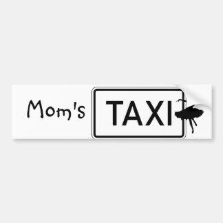 Mom's Taxi/Dance Bumper Sticker