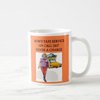 mom's taxi, mom's taxi coffee mugs