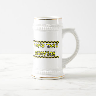 MOMS TAXI SERVICE BEER STEINS