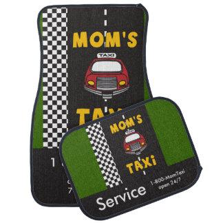 Mom's Taxi Service Floor Mat