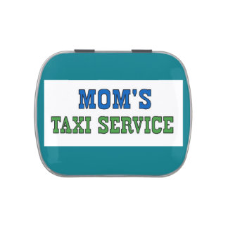 Moms Taxi Service Jelly Belly Tin