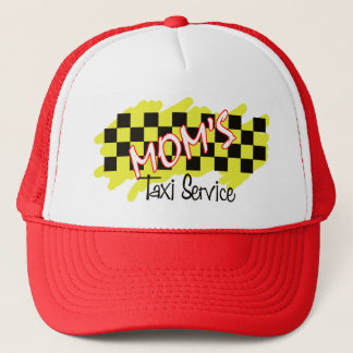 mom's taxi service trucker hat