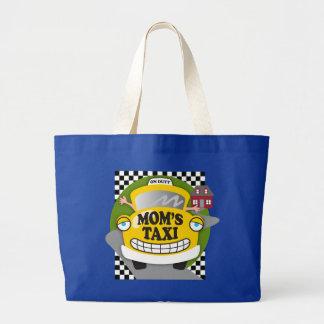 Mom's Taxi Jumbo Tote Bag